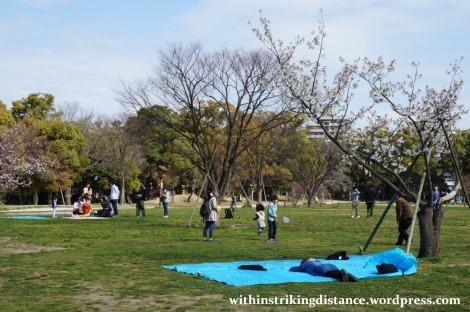 28Mar15 019 Japan Kyushu Fukuoka Castle Maizuru Ohori Park Sakura Cherry Blossom