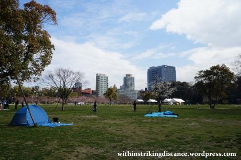 28Mar15 021 Japan Kyushu Fukuoka Castle Maizuru Ohori Park Sakura Cherry Blossom