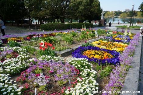 28Mar15 022 Japan Kyushu Fukuoka Castle Maizuru Ohori Park Sakura Cherry Blossom