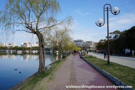 28Mar15 024 Japan Kyushu Fukuoka Castle Maizuru Ohori Park Sakura Cherry Blossom