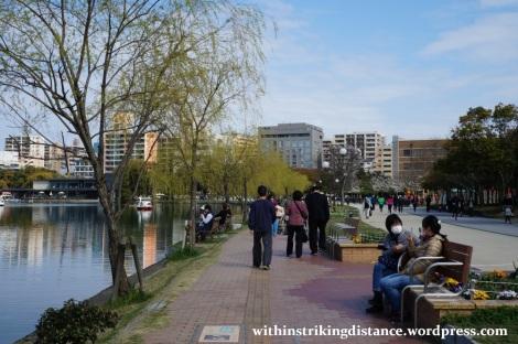 28Mar15 026 Japan Kyushu Fukuoka Castle Maizuru Ohori Park Sakura Cherry Blossom