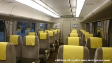 27Jun15 001 Japan Kansai JR West Haruka 281 series EMU Limited Express Train Ordinary Car
