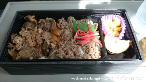 28Jun15 001 Japan Honshu Beef Bento Boxed Lunch