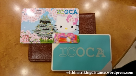 28Jun15 001 Japan Honshu Kansai ICOCA Hello Kitty IC Card