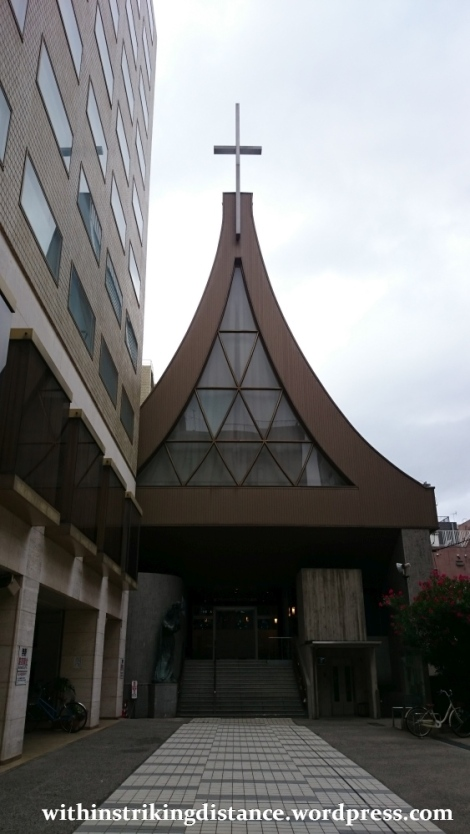 28Jun15 001 Japan Honshu Kyoto Kawaramachi Catholic Church
