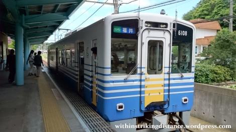 29Jun15 001 Japan Honshu Fukui Echizen Railway 6101 Series EMU Train