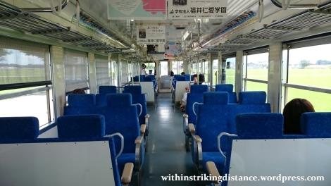 29Jun15 002 Japan Honshu Fukui Echizen Railway 6101 Series EMU Train