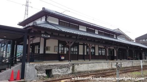 30Jun15 001 Japan Honshu Fukui Katsuyama Station Eiheiji Line Echizen Railway
