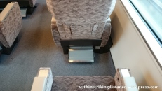 30Jun15 002 Japan Honshu Fukui Kanazawa JR West Thunderbird Limited Express 683 Series EMU Train