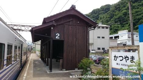 30Jun15 004 Japan Honshu Fukui Katsuyama Station Eiheiji Line Echizen Railway