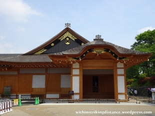 06Jun16 001 Japan Honshu Nagoya Castle Honmaru Palace Genkan