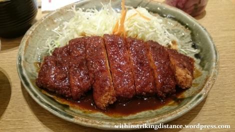 06Jun16 002 Japan Honshu Nagoya Yabaton Miso Rosu Tonkatsu Teishoku Dinner
