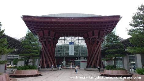 01Jul15 001 Japan Honshu Ishikawa Kanazawa Station