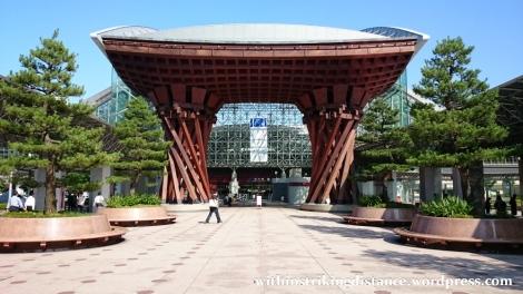 02Jul15 001 Japan Honshu Ishikawa Kanazawa Station