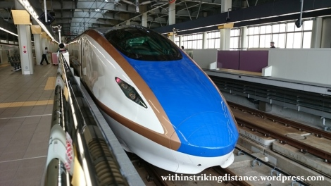 02Jul15 001 JR East Hokuriku Shinkansen E7 Series Train Set F15