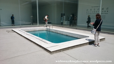 02Jul15 002 Japan Honshu Ishikawa Kanazawa 21st Century Museum of Contemporary Art Swimming Pool Leandro Erlich