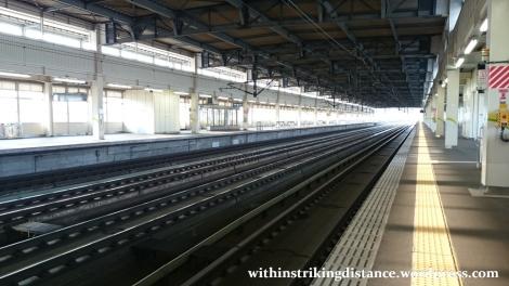 03Jul15 001 Ichinoseki Station JR East Tohoku Shinkansen Platform 12
