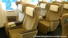 03Jul15 001 Tokyo Ichinoseki JR East Tohoku Shinkansen Yamabiko 43 E5 Series Train Green Car