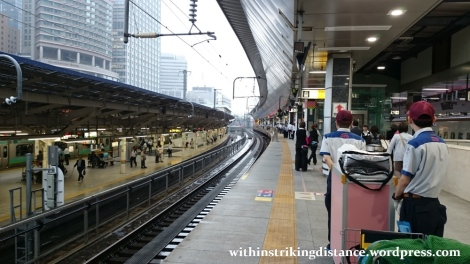 03Jul15 001 Tokyo Station JR East Shinkansen Platform 20