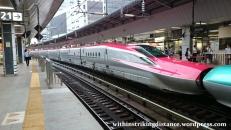 03Jul15 002 Tokyo Station JR East Tohoku Akita Shinkansen E6 Series Bullet Train