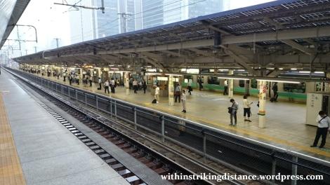 03Jul15 002 Tokyo Station JR East Tokaido Line Platform 10 from Shinkansen Platform 20