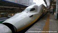 03Jul15 003 Tokyo Station JR East Joetsu Shinkansen E4 Series Bullet Train Set P13