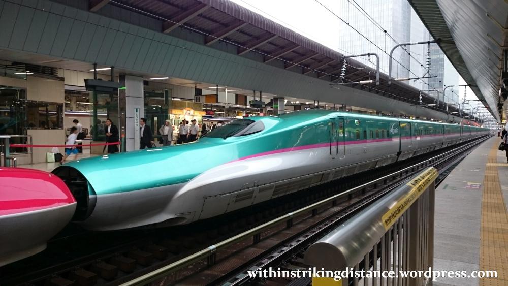 03jul15 003 Tokyo Station Jr East Tohoku Akita Shinkansen