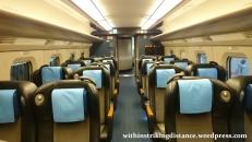 03Jul15 004 Ichinoseki Tokyo JR East Tohoku Shinkansen Hayabusa 104 E6 Series Train Green Car