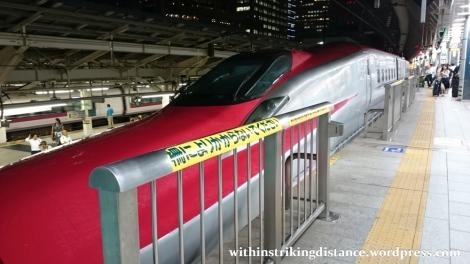 03Jul15 005 Ichinoseki Tokyo JR East Tohoku Shinkansen Hayabusa 104 E6 Series Train