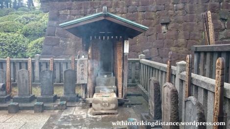 05Jul15 010 Japan Honshu Tokyo Sengakuji 47 Forty Seven Ronin Graves