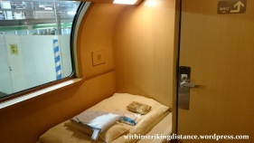 05-06Jul15 005 Japan Honshu 285 Series EMU JR Tokyo Izumo-shi Sunrise Izumo Night Train Sleeper Single Deluxe Room