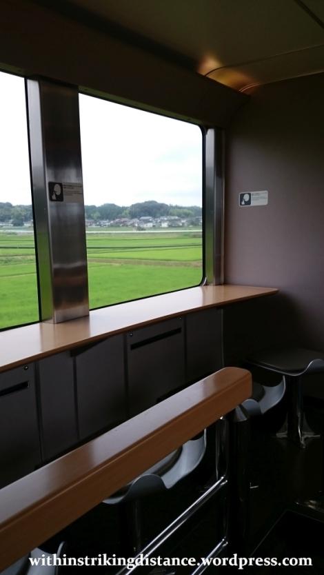 05-06Jul15 017 Japan Honshu 285 Series EMU JR Tokyo Izumo-shi Sunrise Izumo Night Train Sleeper
