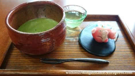 07jul15-005-japan-honshu-shimane-matsue-rekishikan-history-museum-cafe-kiharu-matcha-green-tea-okashi