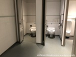 09May18 012 Japan Kyushu Ryukyu Okinawa Naha Airport International Terminal OKA Male Toilet Restroom Washroom